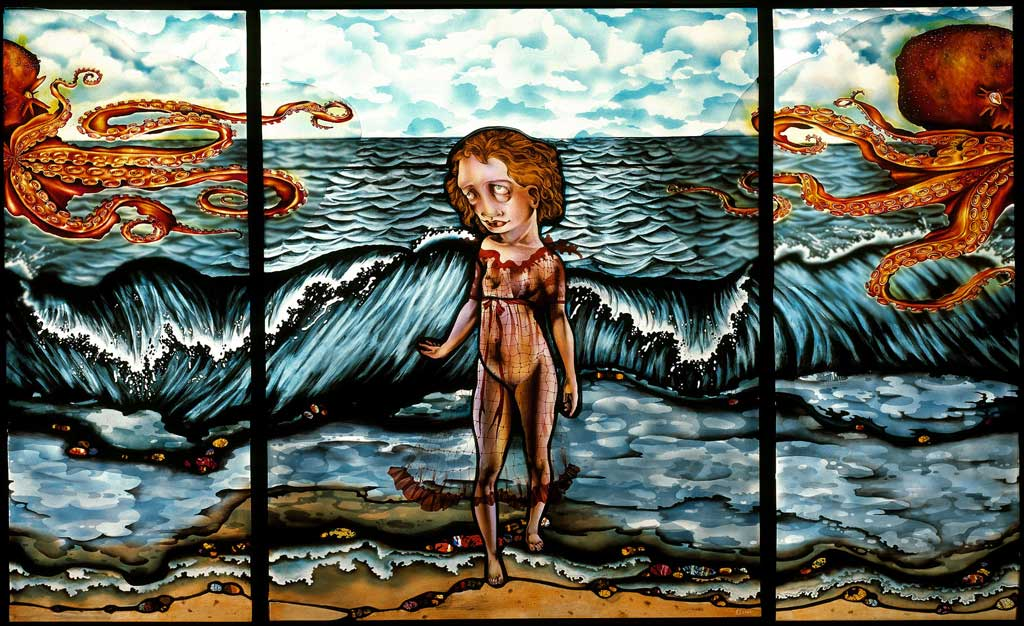Dream of the Fisherman's Wife, 48″ × 32″, 2004