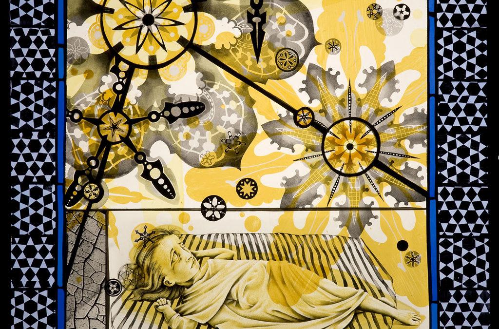 Phosphenes, 24″ × 28″, 2008