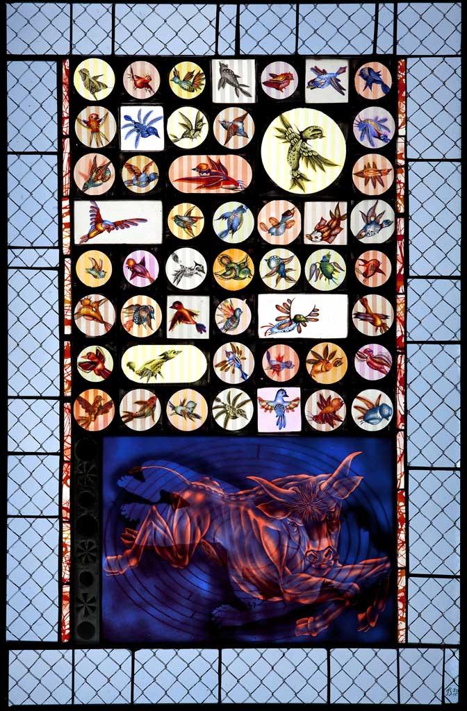 The Minotaur, 25″ × 38″, 2009