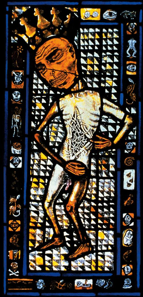 King of Maggots, 13″ × 23″, 1983
