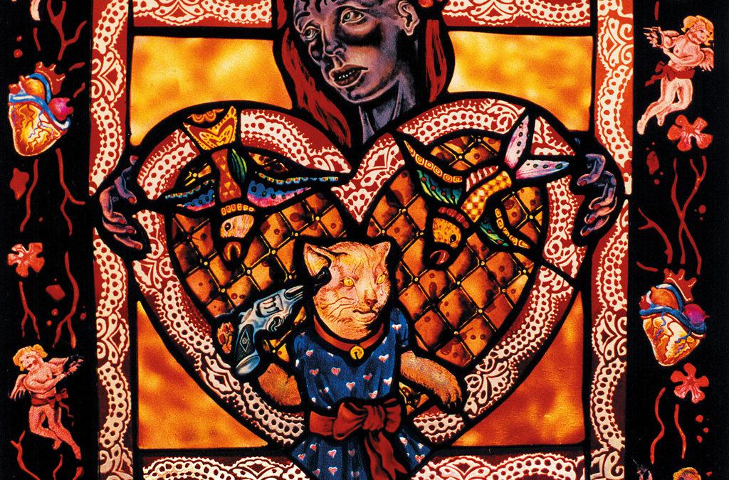 St. Violentine, 17″ × 17″, 1991