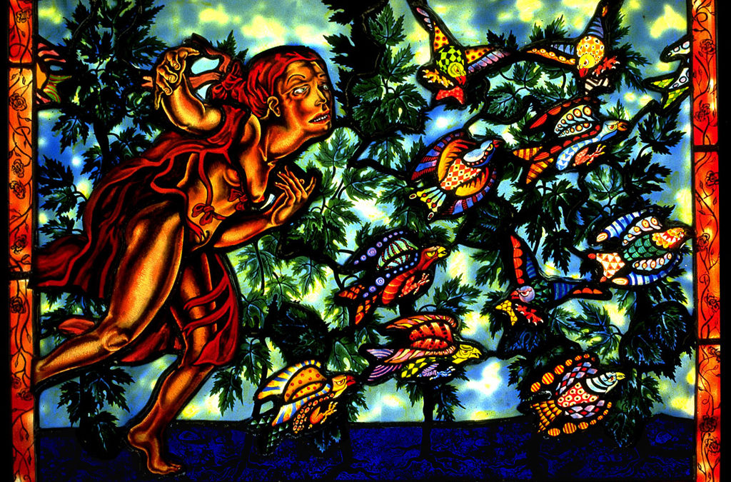 When The Hunter Sings, 26″ × 20″, 1991