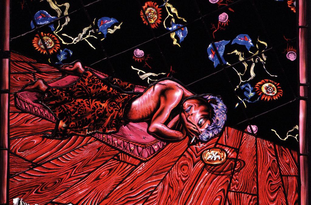Bad Night With Insomnia, 25″ × 22″, 1994