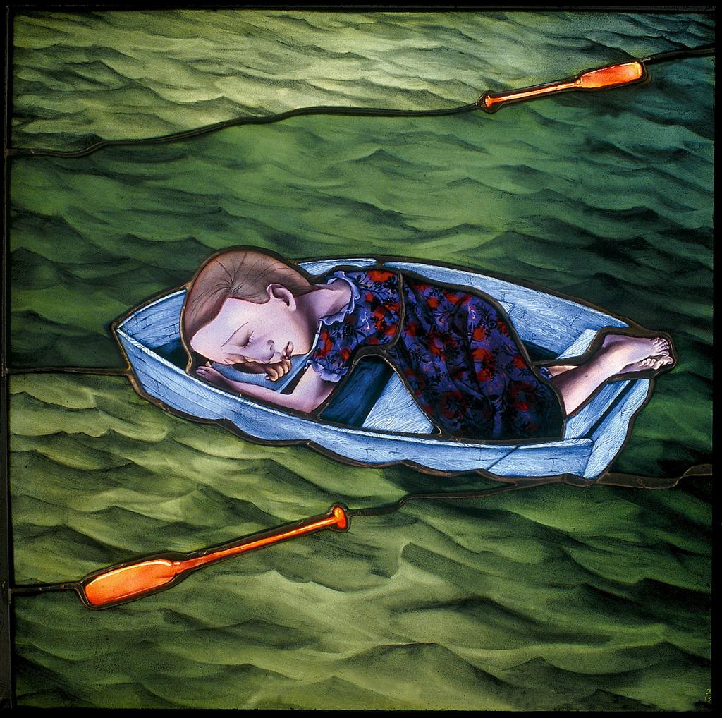 Asleep Adrift, 16″ × 20″, 1997