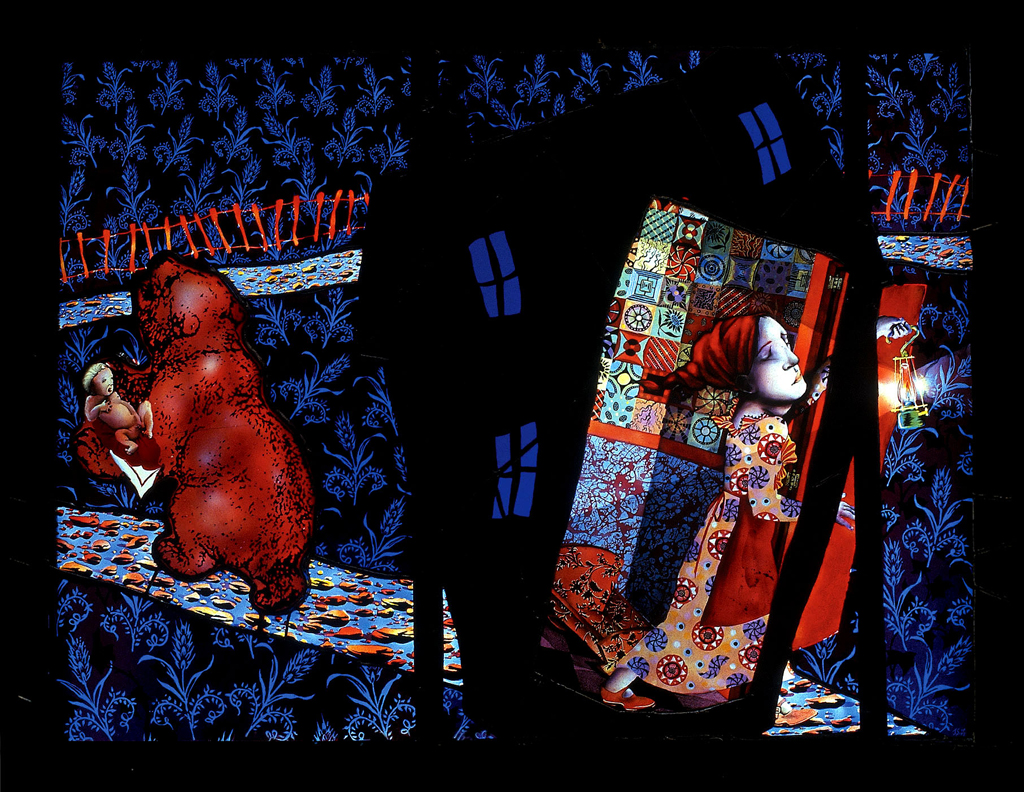 Little Red Motherhood, 34″ × 26″, 1997