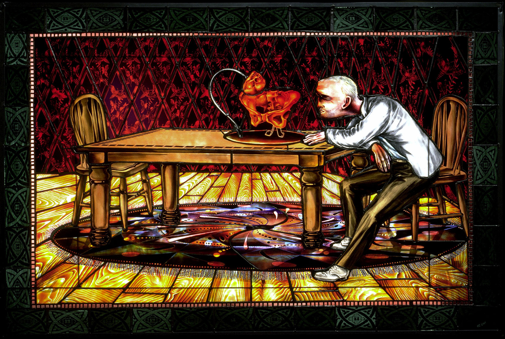 The Student Gynecologist, 48″ × 32″, 2001