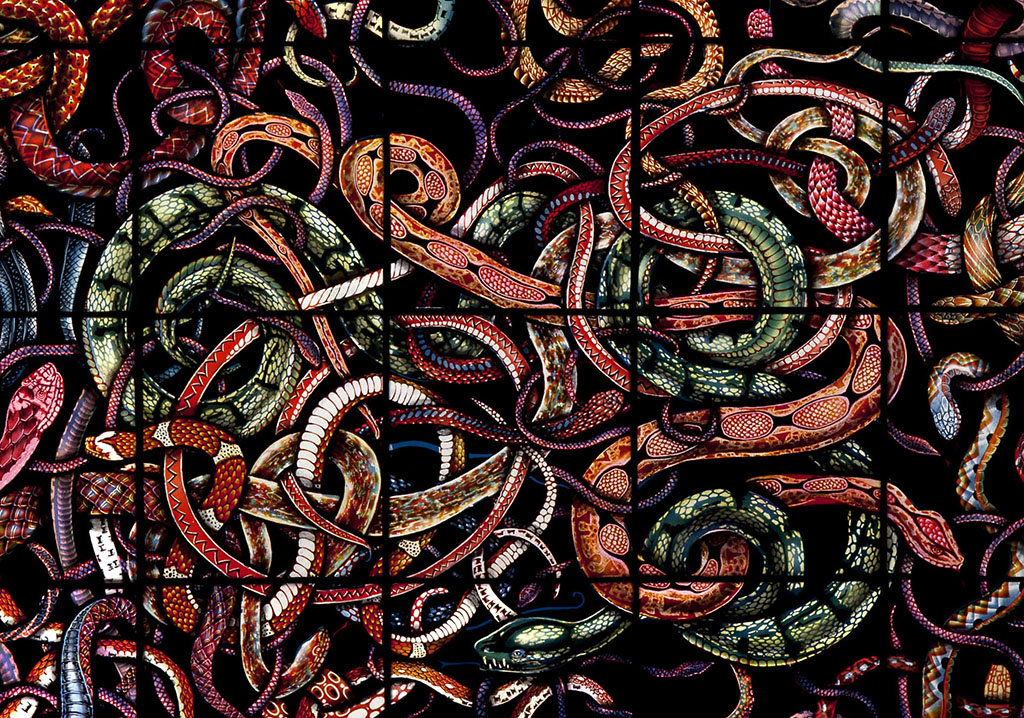 A Play About Snakes, detail