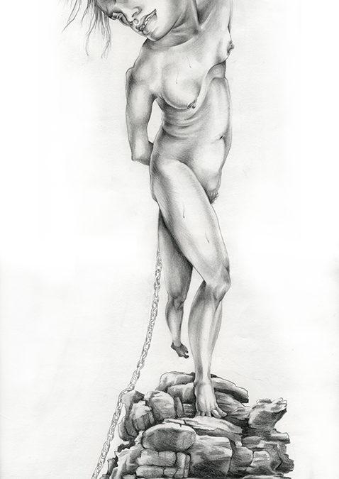 Andromeda, graphite, 2010