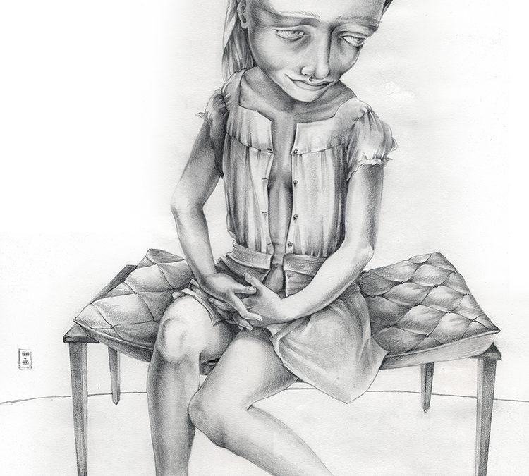 Jailbird, graphite, 2010