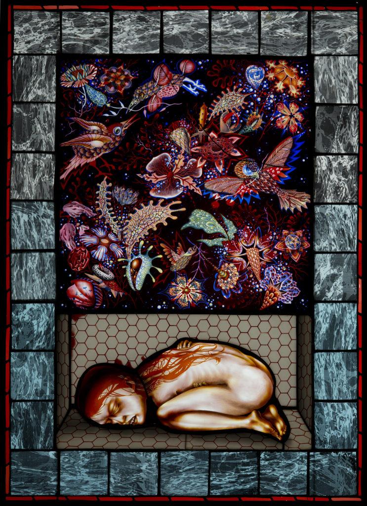 Anchoress, 35 x 25″, 2015